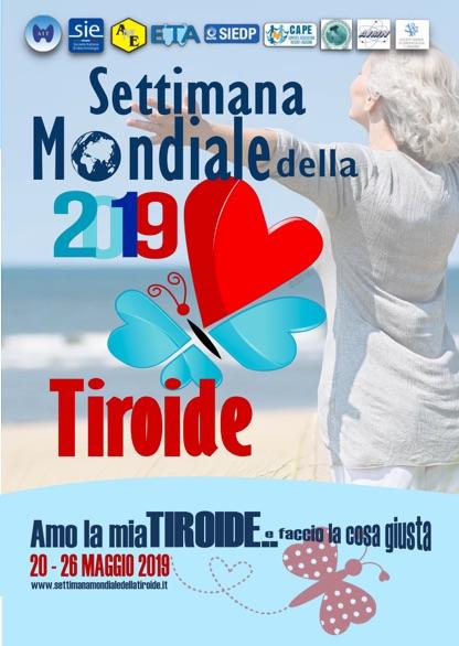 Brochure settimana della tiroide